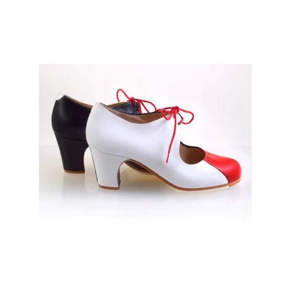 Zapato de flamenco. Modelo Espejo
