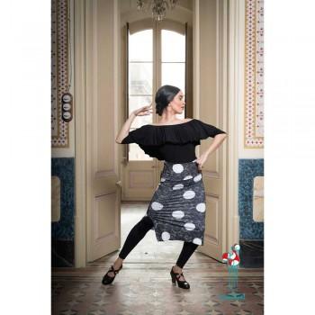 Falda de ensayo para baile flamenco. Modelo Bangui