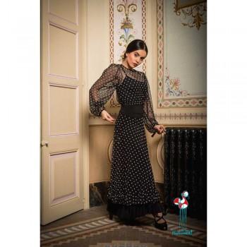 Falda de ensayo de baile flamenco. Modelo Vaccares