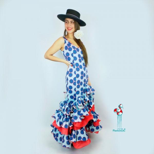 Traje de flamenca outlet modelo Adela talla 36