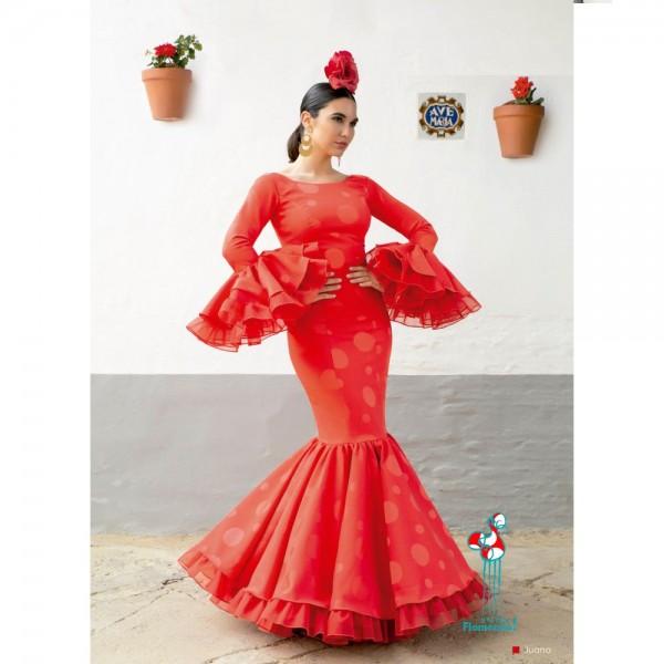 Traje de flamenca Juana.