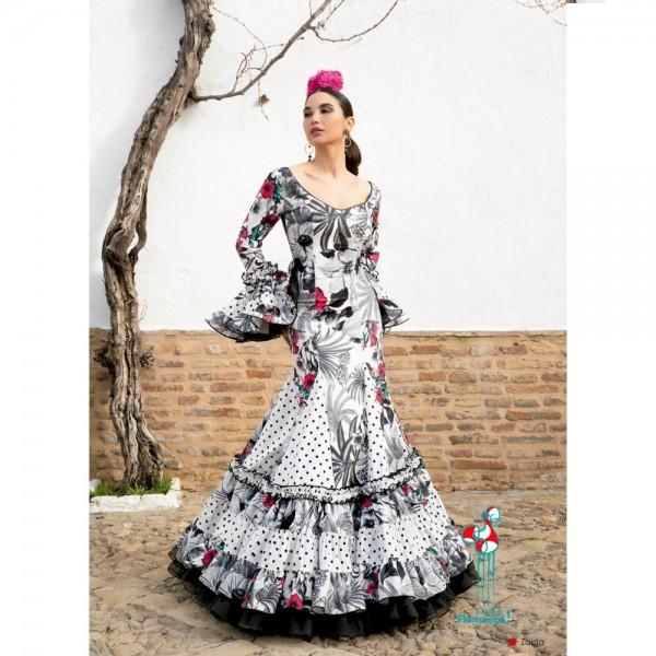 Traje de flamenca Zaida