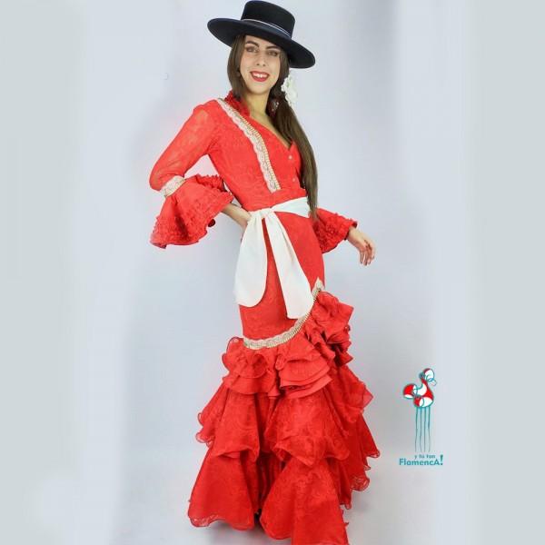 Traje de flamenca  Salomé Talla 42