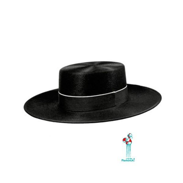 Sombrero cordobés piel de conejo.
