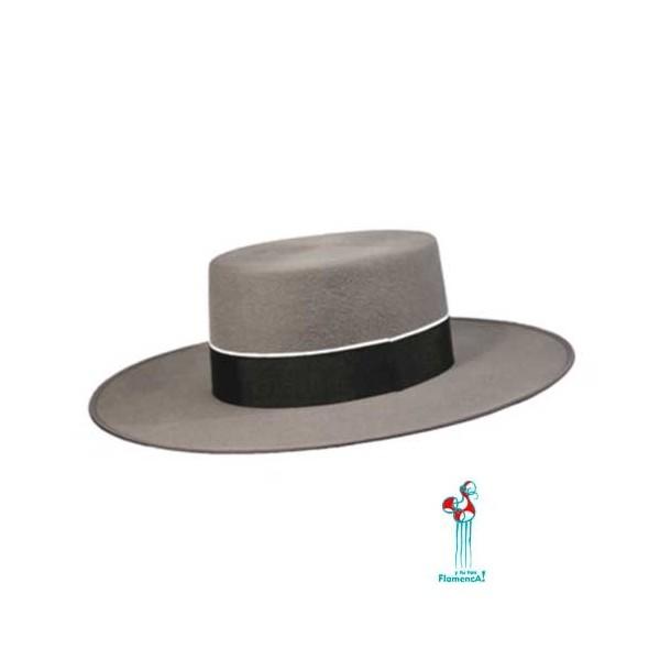 Sombrero cordobés -gris- adulto